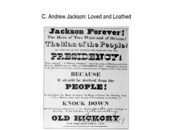 Andrew Jackson: Tyrant or True Defender of the Common Man?