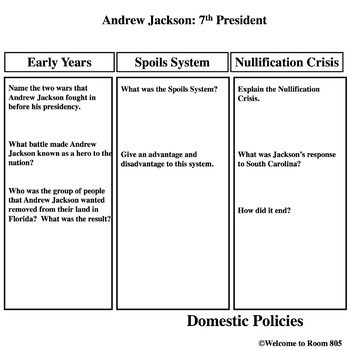 Andrew Jackson Unit