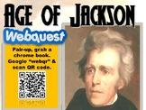 Andrew Jackson Web Quest