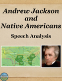 Andrew Jackson and Native Americans Speech Analysis