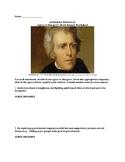 Jacksonian Democracy – Agree/Disagree Short Answer Worksheet