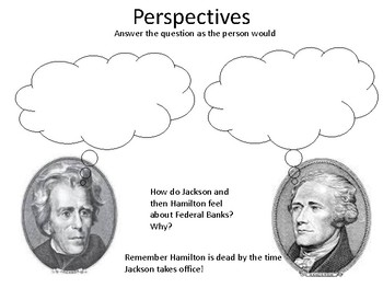 Andrew Jackson perspectives key point