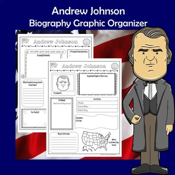 Andrew Johnson President Biography Research Graphic Organizer