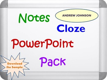 Andrew Johnson and Black Codes Pack (PPT, DOC, PDF)