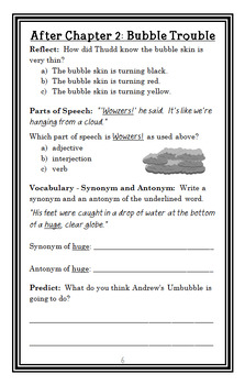 Andrew Lost: In the Bathroom (Greenburg) Novel Study / Comprehension (27 pages)