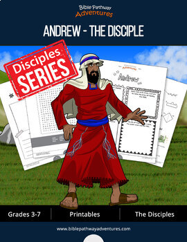 Andrew: The Disciple Activity Book