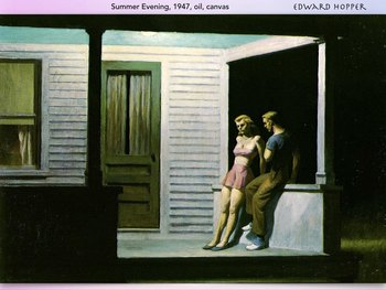 Edward Hopper ~ Art History ~ America Real ~ Alienation ~ 184 Slides