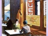 Edward Hopper Art - American Realism SHOW + TEST = 214 Slides Modern Angst Art