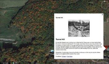 Andrews Raid Civil War Virtual Interactive Map Tour