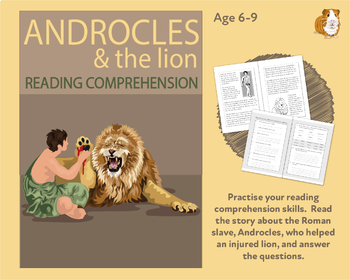 Androcles And The Lion: Let's Practise Our Reading Comprehension (6-9 years)