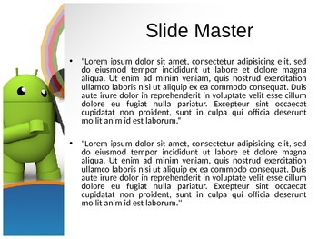 Android PPT Template