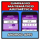 Android apps - Gimnasio Matemático - Aritmética