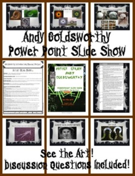 Andy Goldsworthy PowerPoint Slideshow