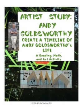 Andy Goldsworthy Timeline