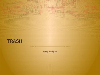 Andy Mulligan Trash Book Cover comparison PPT