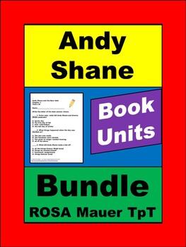 Andy Shane Book Unit Bundle