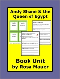 Andy Shane and the Queen of Egypt Literacy Book Unit