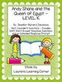 Andy Shane and the Queen of Egypt - Text Based Questions