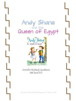 Andy Shane and the Queen of Egypt book study