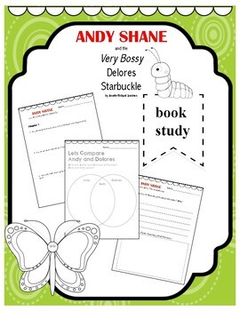Andy Shane and the Very Bossy Delores Starbuckle Book Study