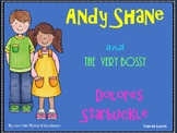 Andy Shane and the Very Bossy Dolores Starbuckle ~ 33 pg Common Core Activities