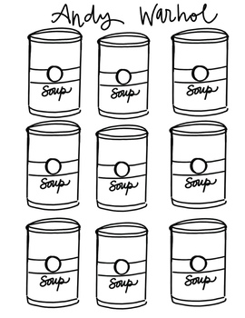Andy Warhol Activity Sheet