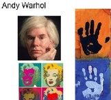 Andy Warhol Art Lesson - Smart Notebook File