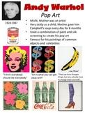 Andy Warhol Artist Pop Art Poster