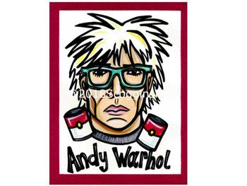 Andy Warhol- Artist Poster