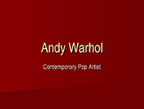 Andy Warhol Artist Preview