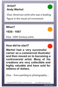 Andy Warhol - Artists of the world enrichment kit - Flashcards pdf download
