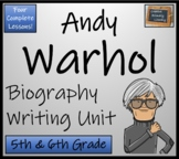 Andy Warhol - Biography Writing Activity