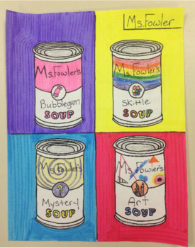 andy warhol soup campbell