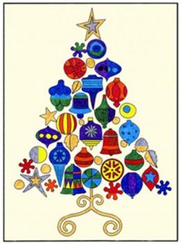 Andy Warhol Christmas Tree