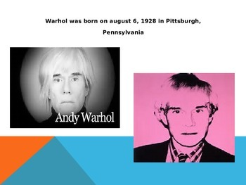 Andy Warhol Facts & Information