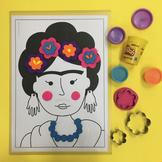 Andy Warhol & Frida Kahlo Play-mats