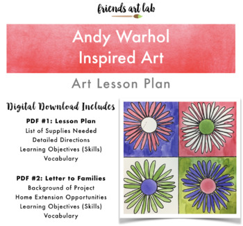 Andy Warhol Inspired Art Lesson Plan