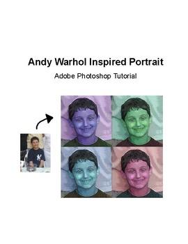 Andy Warhol Inspired Portrait Adobe Photoshop Tutorial