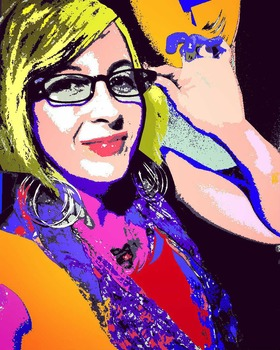 """Andy Warhol-Inspired PIXLR Portraits"" - Complete Lesson"