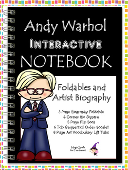 Andy Warhol Interactive Notebook Foldables