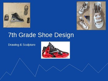 Andy Warhol Shoe Design Sculpture Project (Middle & High School)
