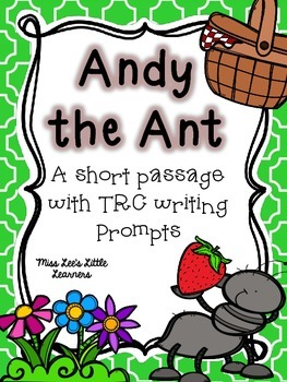Andy the Ant: A short story with TRC question stem activities