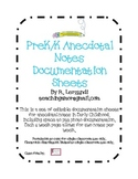 Anecdotal Notes Documentation Sheets for Early Childhood (
