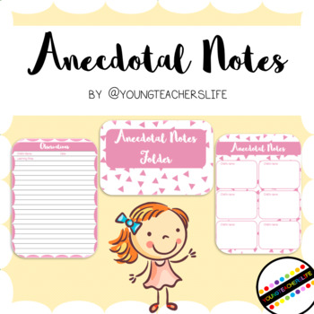 Anecdotal Notes Folder