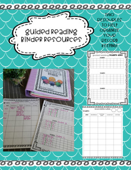 Anecdotal Notes for Guided Reading
