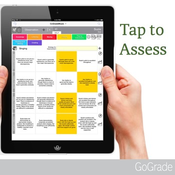 Anecdotal Record Assessment App for iPad