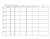 Anecdotal Teacher Writing Checklist