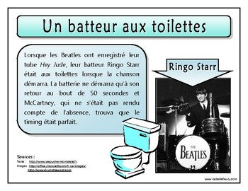 Anecdotes - Les Beatles