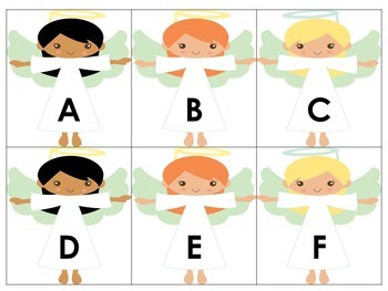 Angel Alphabet Match
