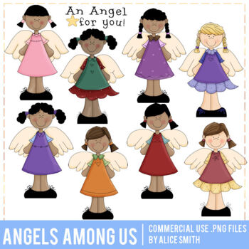 Angel Amoung Us Clip Art Graphics